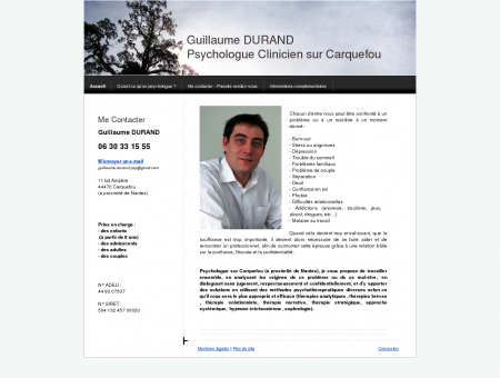 Accueil - Guillaume Durand - Psychologue...