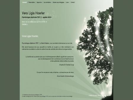 Ligia Hoerler: psychologue diplômée FSP à...
