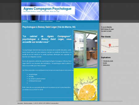 Agnes Compagnon Psychologue |...