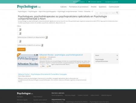 Psychologie comportementale Niort -...
