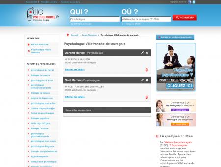 Psychologue Villefranche-de-lauragais 31290