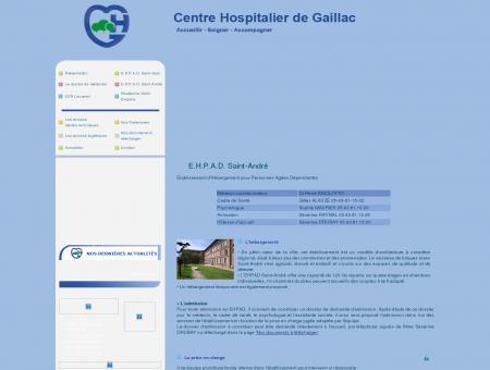 E.H.P.A.D. Saint-André : Centre Hospitalier de...