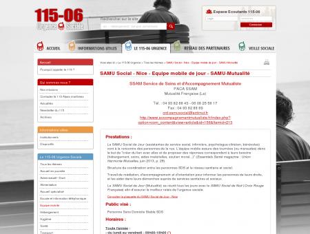 SAMU Social - Nice - Equipe mobile de jour -...