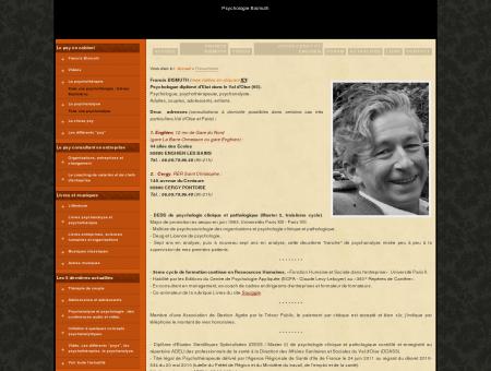 Présentation - Francis Bismuth - Psychologue ...