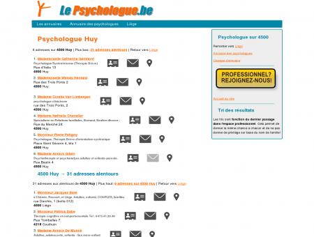 Psychologue Huy