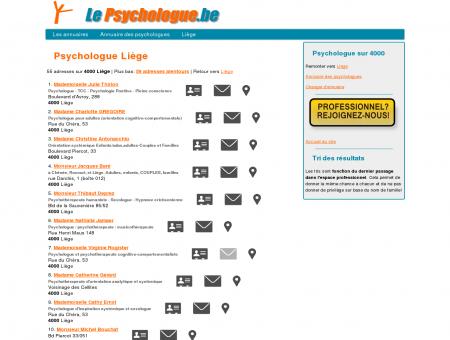 Psychologue Liège (4000 Liège) - Le...