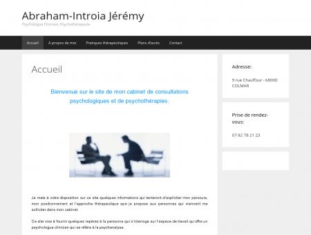 Abraham-Introia Jeremy, psychologue...