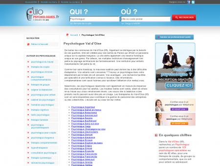 Psychologue Val d'Oise 95 - Psychologue -...