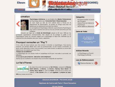 Eleonore BOURDON - Psychologue Clinicienne ...