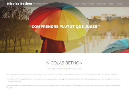 Nicolas Bethon - Psychologue clinicien...