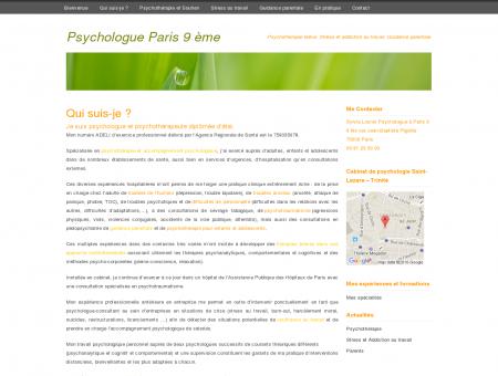 Psychologue Paris 9 ème - Sylvia Lounis,...