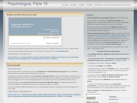 Psychologue, Paris 15
