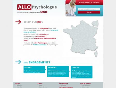 Trouvez un psychologue dans votre région