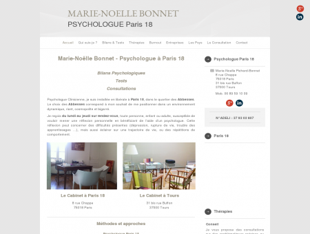 Marie-Noelle Pichard-Bonnet - Psychologue...