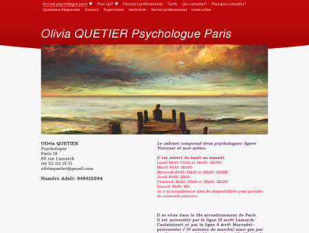 Olivia Quetier Psychologue psychotherapeute...