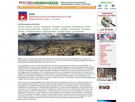 Psychologue, psychothérapeute,...