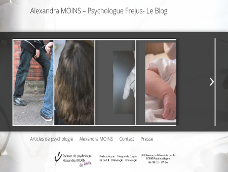 Alexandra MOINS - Psychologue Frejus- Le Blog