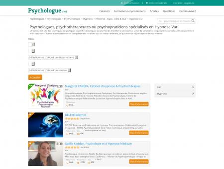 Hypnose Var - Psychologue.net