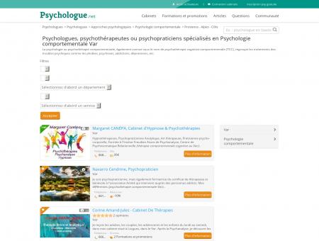 Psychologie comportementale Var -...