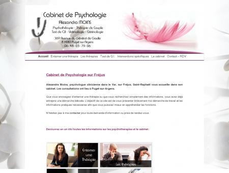 Psychologue à Fréjus, Alexandra MOINS |...