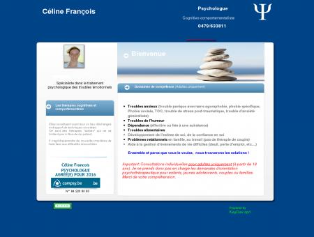 Celine Francois - Psychologue Tournai