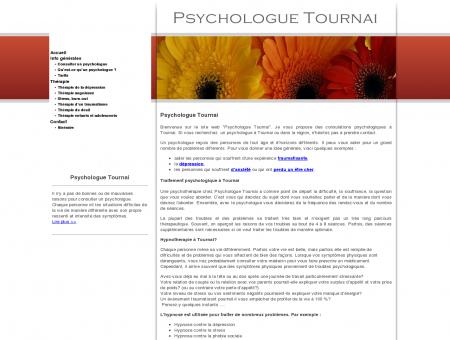 Psychologue Tournai, le cabinet...