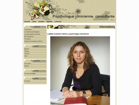 Psychologue clinicienne, consultante