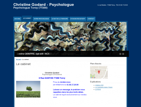 Psychologue Torcy Le cabinet | Christine...