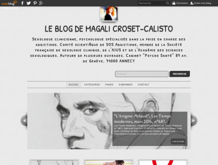 Le Blog de Magali Croset-Calisto - Sexologue...