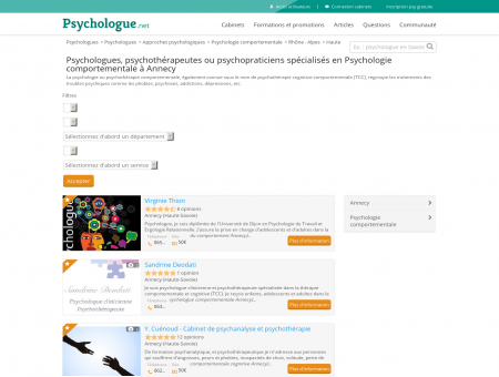 Psychologie comportementale Annecy -...