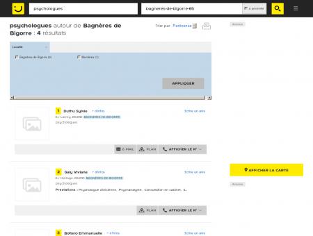 Psychologue à Bagnères de Bigorre -...