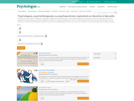 Boulimie Marseille - Psychologue.net -...