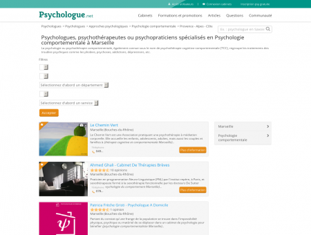 Psychologie comportementale Marseille -...