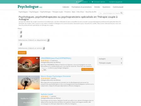 Thérapie couple Aubagne - Psychologue.net