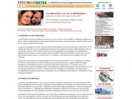 La séduction: par un psychologuee - Bottin des ...