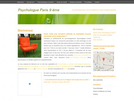 Psychologue Paris 9 ème, Psychothérapeute...