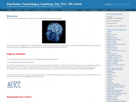 Bienvenue et Psychiatre, Psychologue,...