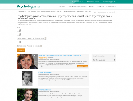 Psychologue ado Rueil-Malmaison -...