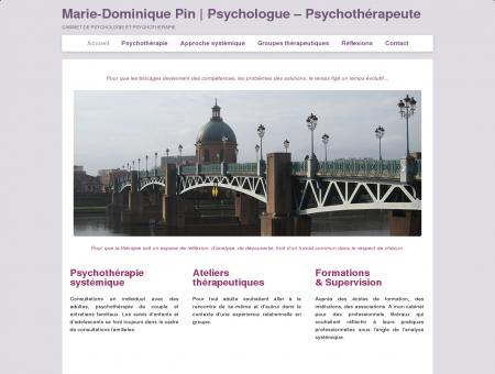 Marie-Dominique Pin | Psychologue -...