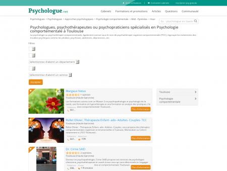 Psychologie comportementale Toulouse -...