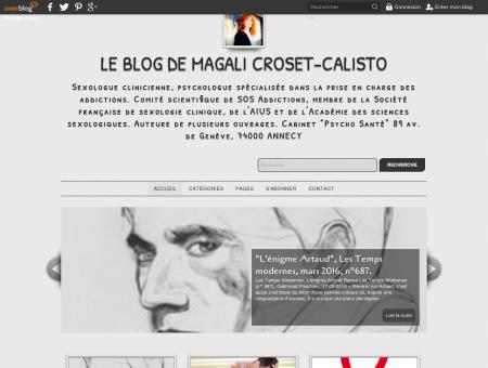Le Blog de Magali Croset-Calisto - Sexologue...