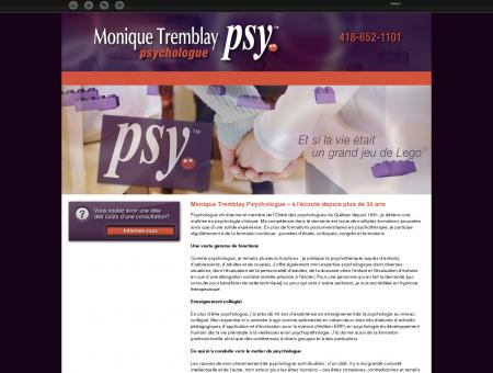 Monique Tremblay Psychologue | Grande...