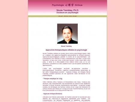 Nicole Tremblay, Ph.D., Docteure en...