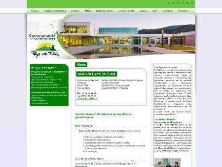 Site officiel de la Communauté de communes...