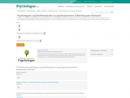 Psychologues Montesquieu-Volvestre -...