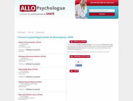Trouvez un psychologue à proximité de...