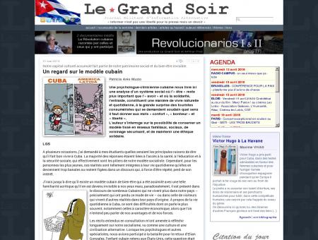 Un regard sur le modèle cubain -- Patricia Arés...
