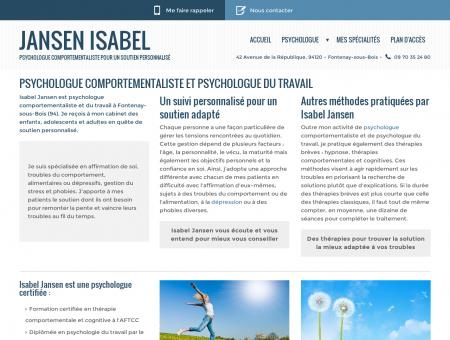 Psychologue Fontenay sous Bois - JANSEN...