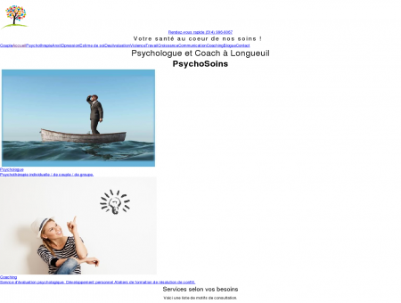 Psy Longueuil|Robert Gauthier psychologue