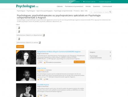 Psychologie comportementale Avignon -...